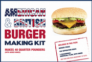 Make HEALTHY Burgers with this BURGER PRESS KIT Discs & 3 Seasoning Mixes American, Plain & Onion